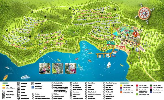 Center Parcs Bostalsee Parkplan